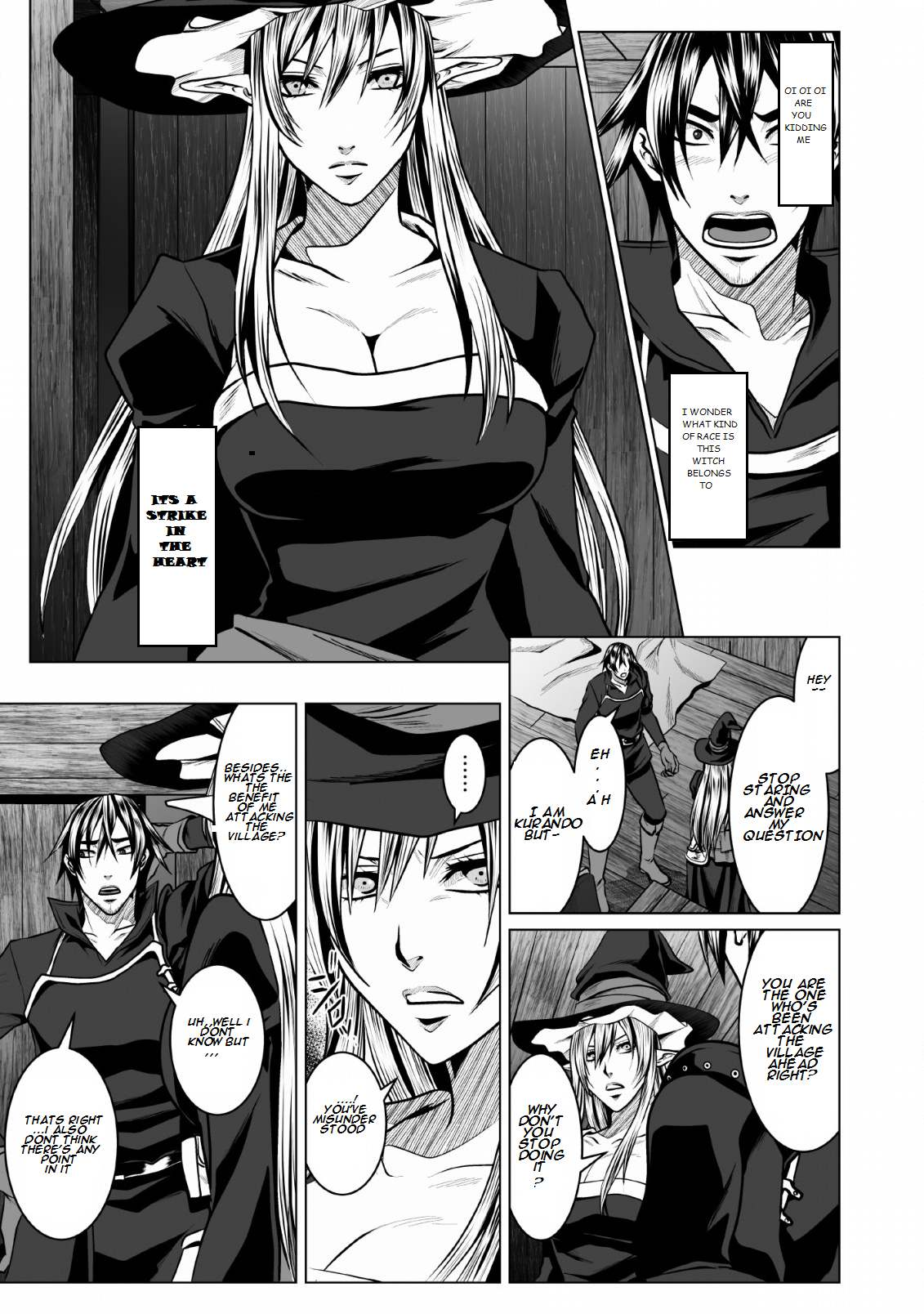 Dhm – Dungeon + Harem + Master Chapter 1 page 1