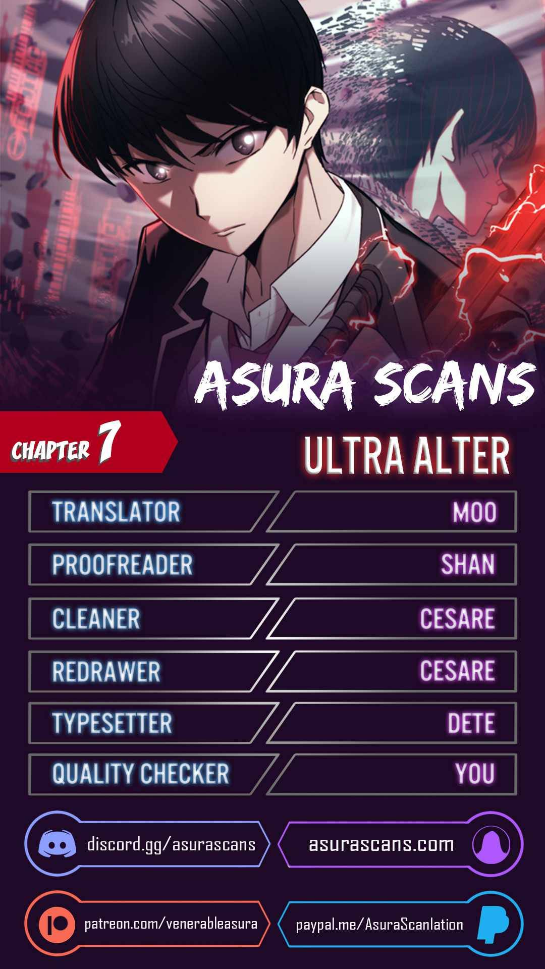 Ultra Alter Chapter 7 page 1